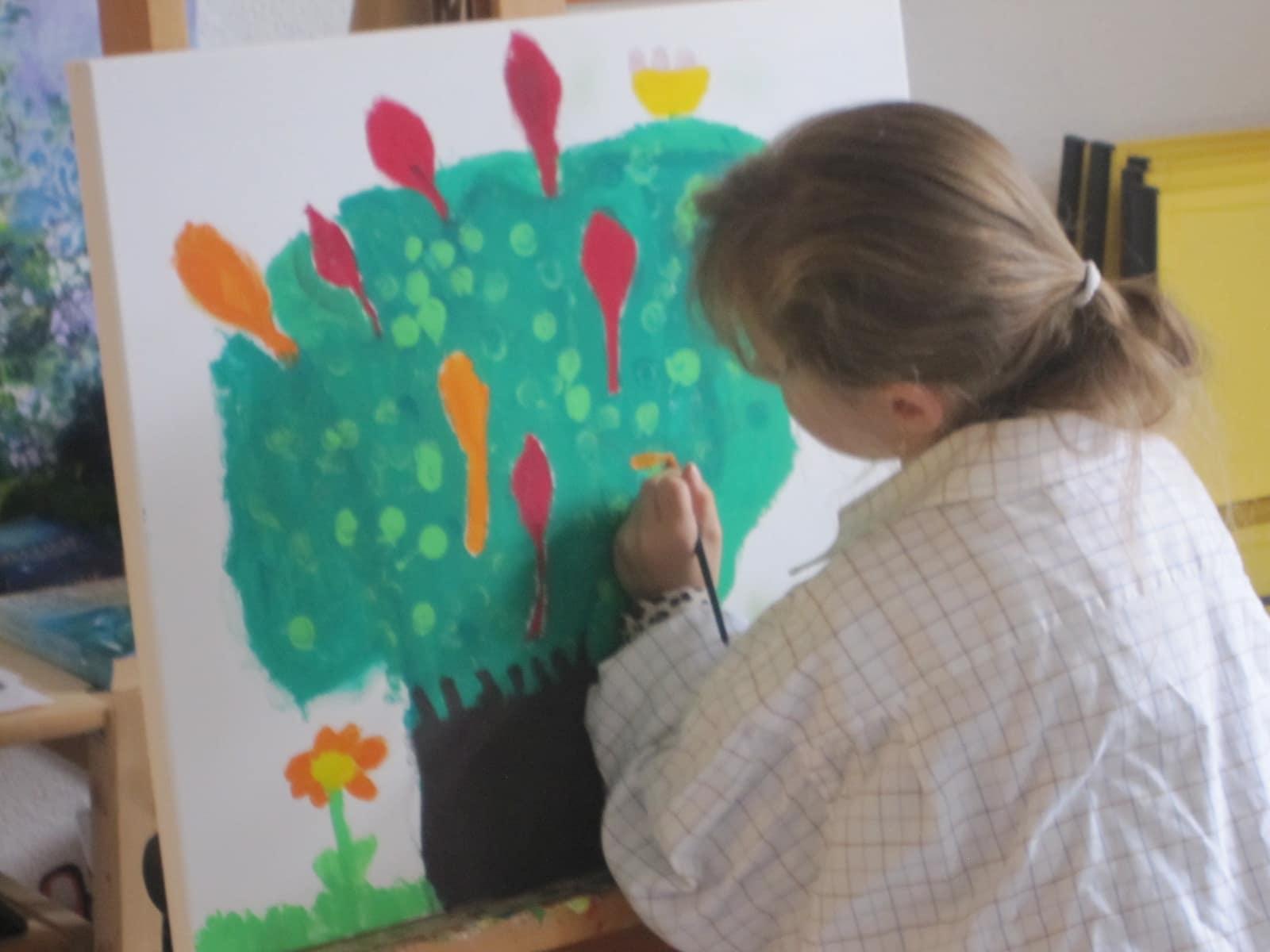 Kunstwerkstatt fuer Kinder IMG_2270