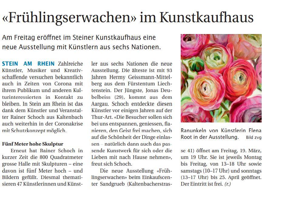 Steiner Anzeiger 16.März 2021